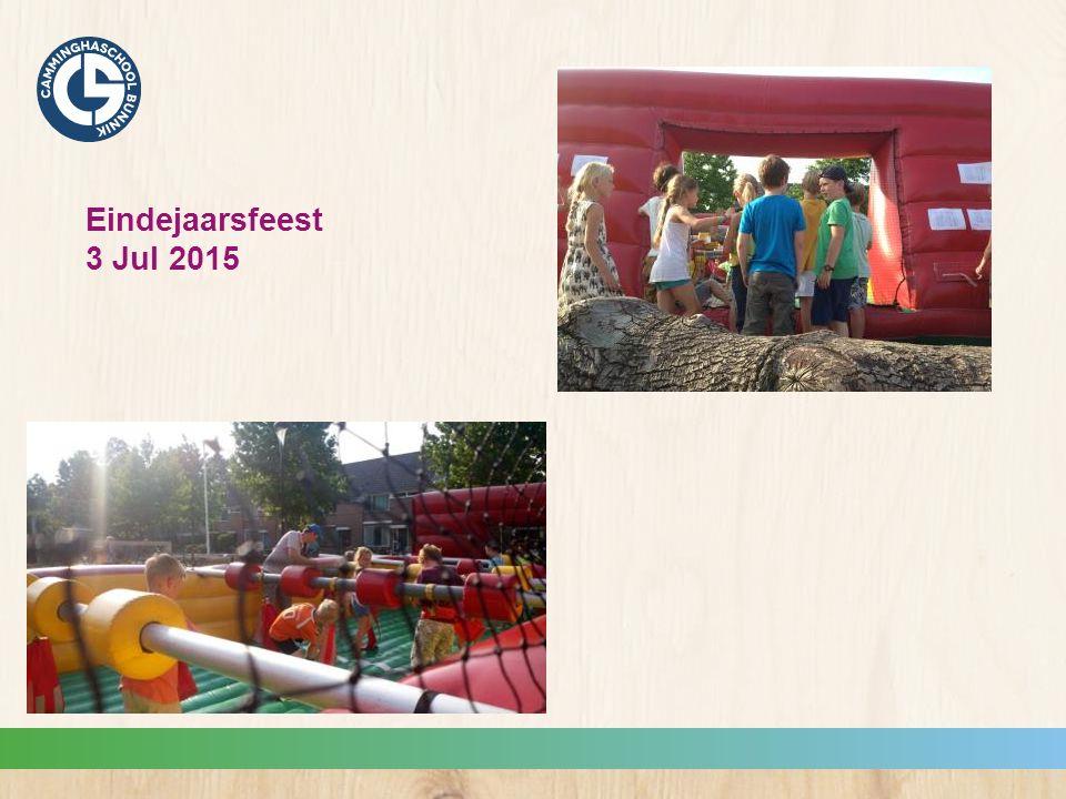 Eindejaarsfeest 3 Jul 2015