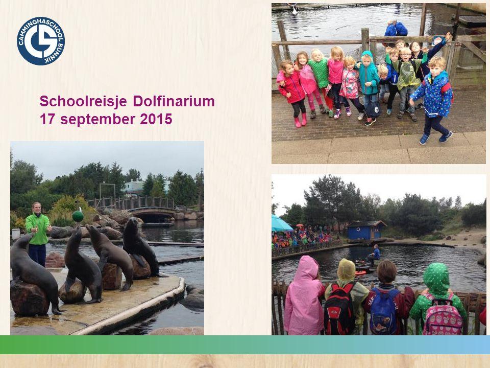Schoolreisje Dolfinarium 17 september 2015