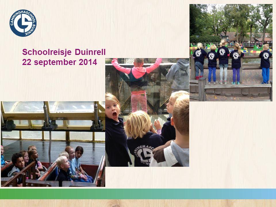 Schoolreisje Duinrell 22 september 2014