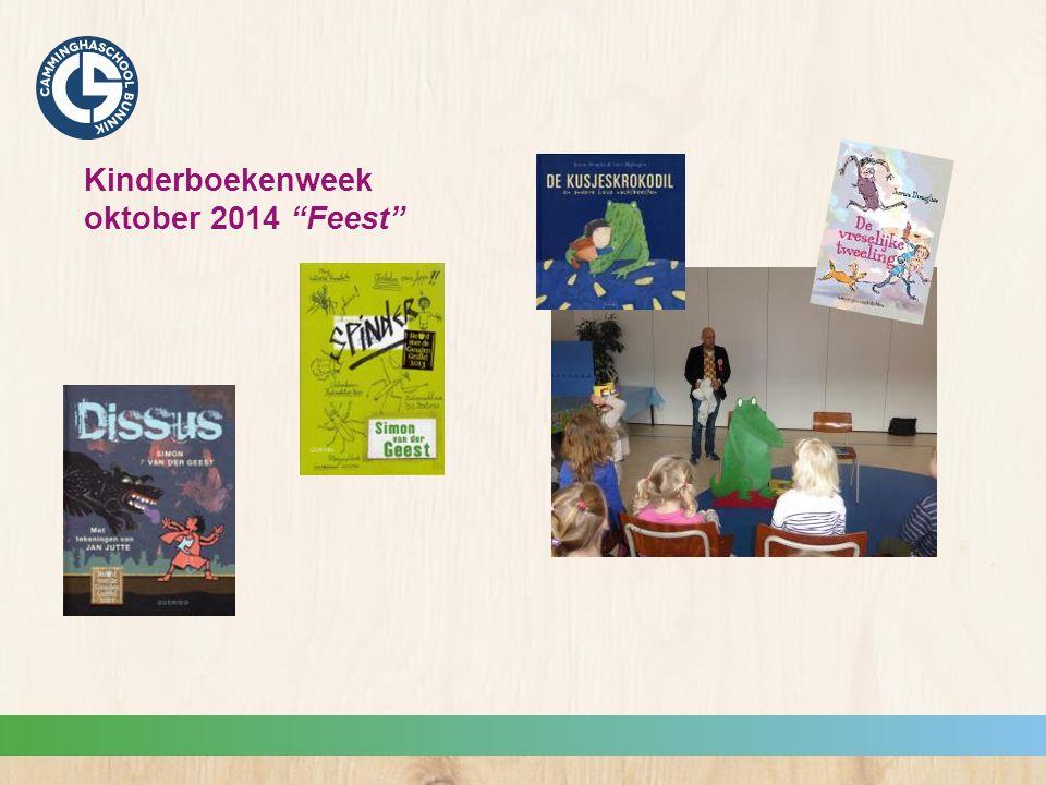 Kinderboekenweek oktober 2014 Feest
