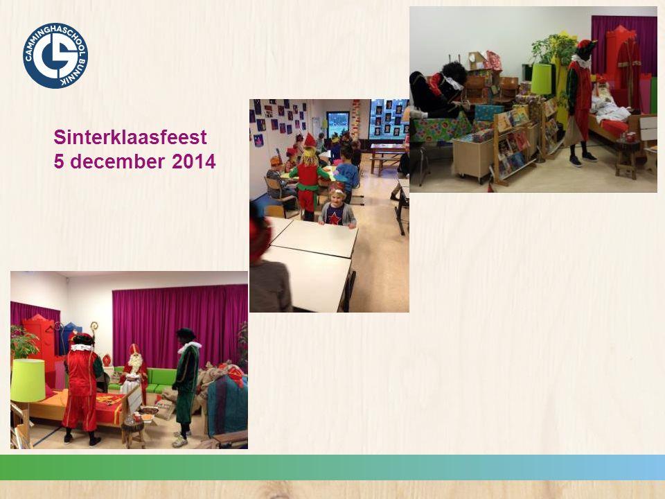 Sinterklaasfeest 5 december 2014