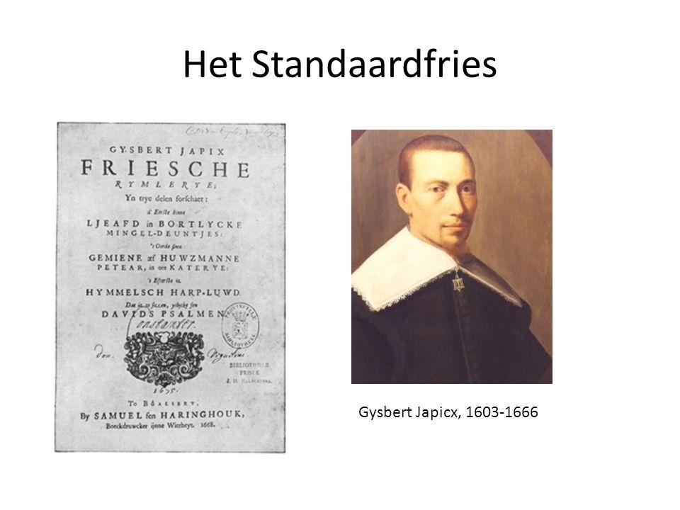 Het Standaardfries Gysbert Japicx, 1603-1666