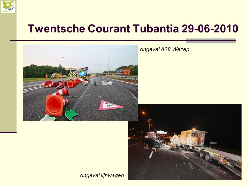 Minimale verkeersruimte is 2,75 meter.Is deze smaller dan moet de weg worden afgesloten.