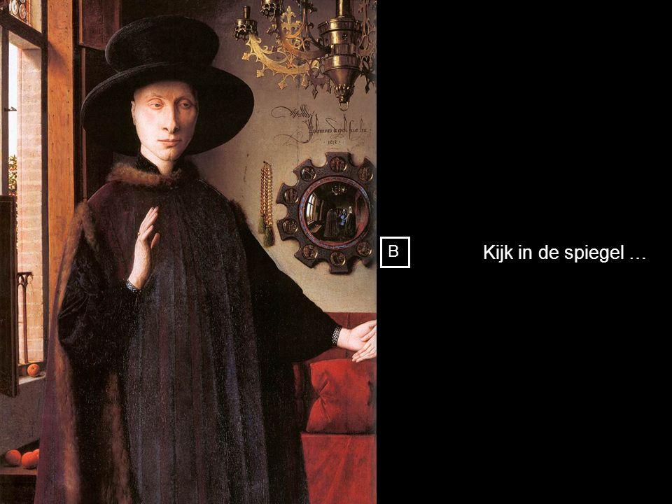 Portret van Giovanni Arnolfini en verloofde 1434 [ National Gallery, London ] B