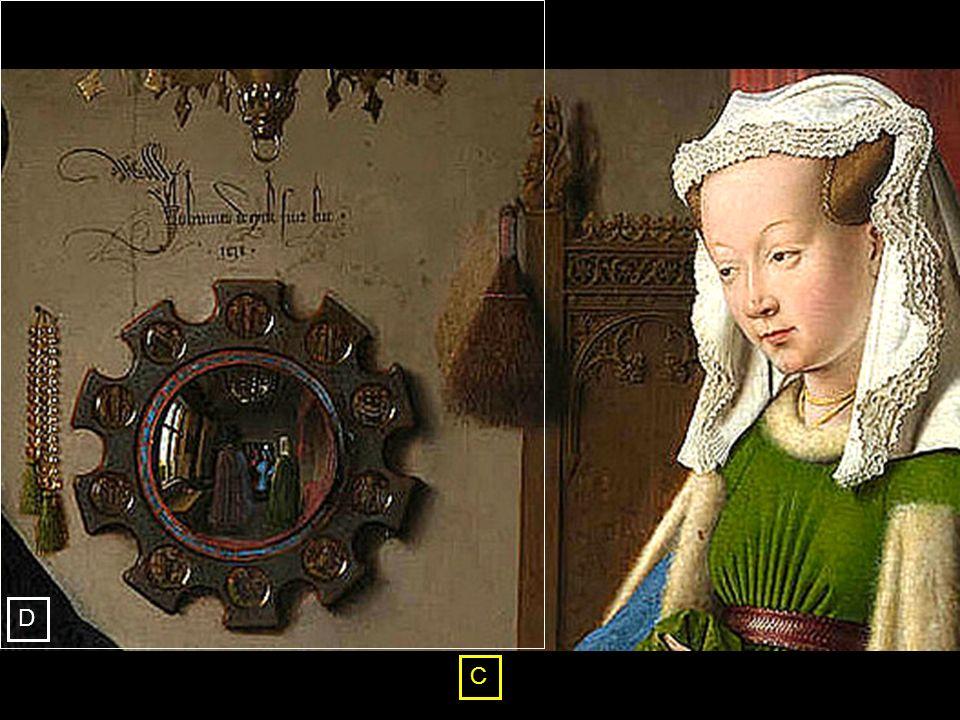 Portret van Giovanni Arnolfini en verloofde 1434 [ National Gallery, London ] C