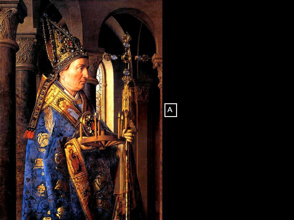 Madonna met kanunnik Jozef van der Paele 1436 [ Groeningemuseum, Brugge ] A