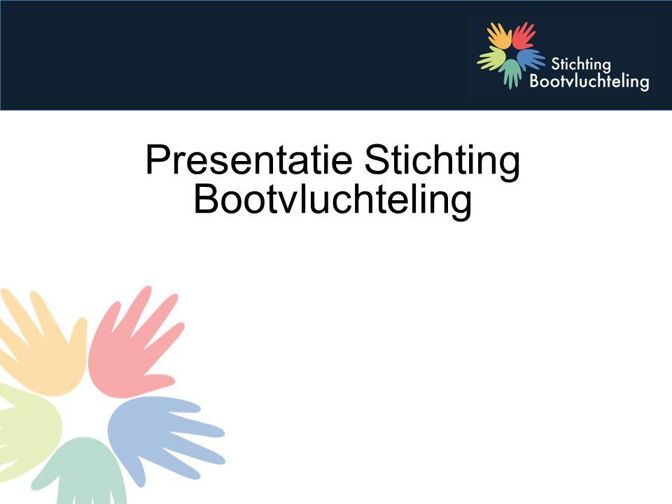Presentatie Stichting Bootvluchteling