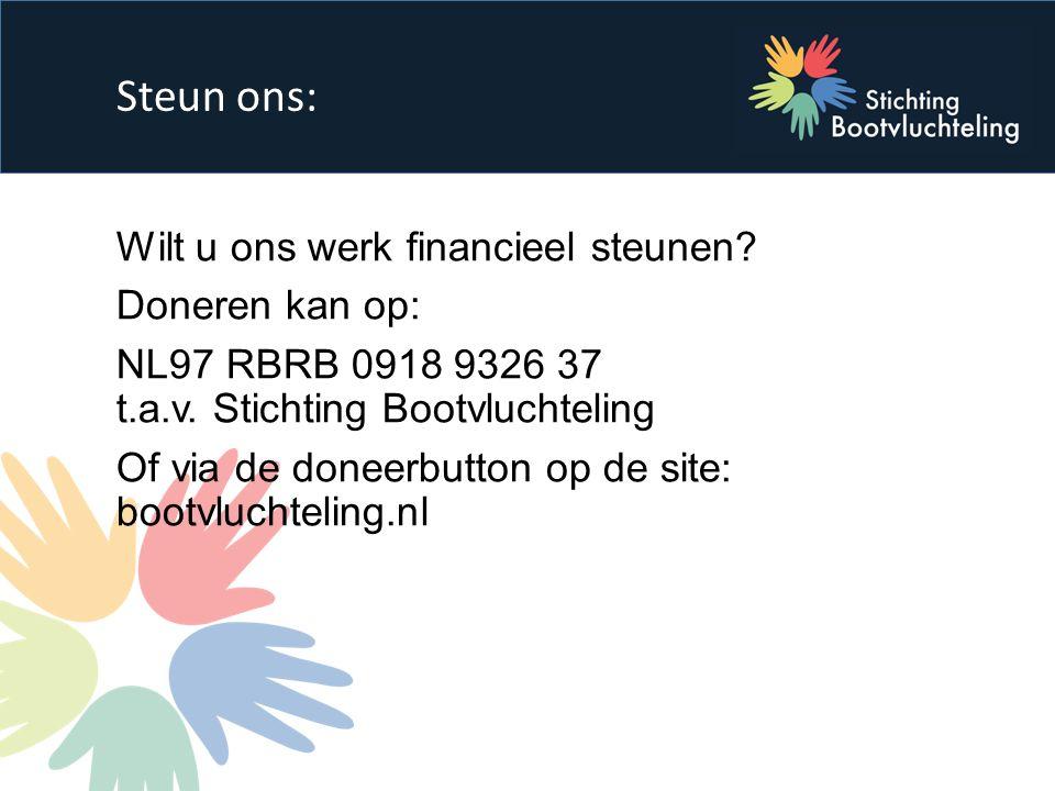 Wilt u ons werk financieel steunen. Doneren kan op: NL97 RBRB 0918 9326 37 t.a.v.