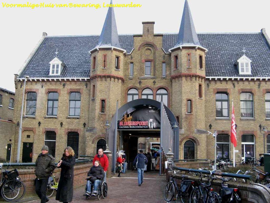 Friese landschap Zonsondergang Einde