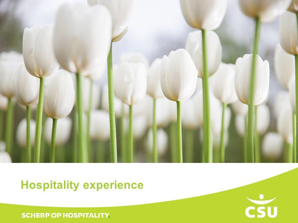 Titel Hospitality experience