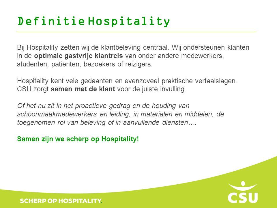 Bij Hospitality zetten wij de klantbeleving centraal. Wij ondersteunen klanten in de optimale gastvrije klantreis van onder andere medewerkers, studen