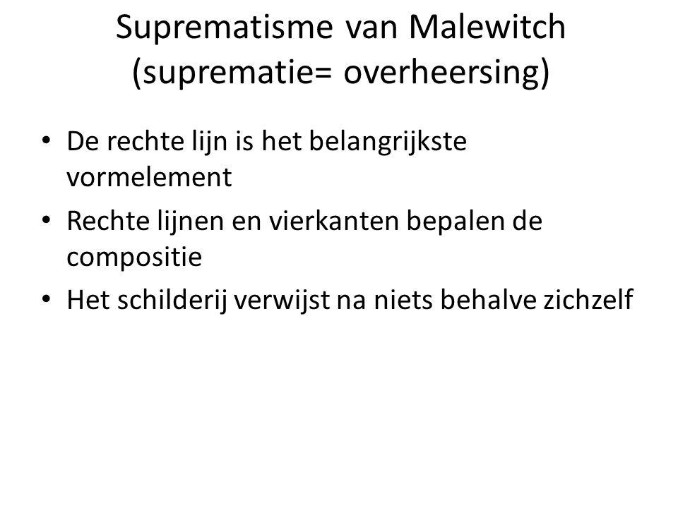 Het zwarte Vierkant K. Malewitch