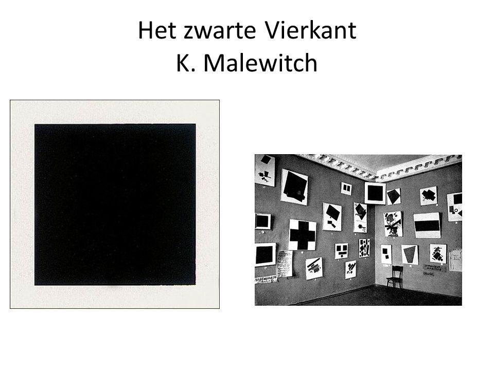 Opvatting Malewitch Kubisme gaat uit van de werkelijkheid Futurisme gaat uit van nu bestaande techniek en zou verouderen M.