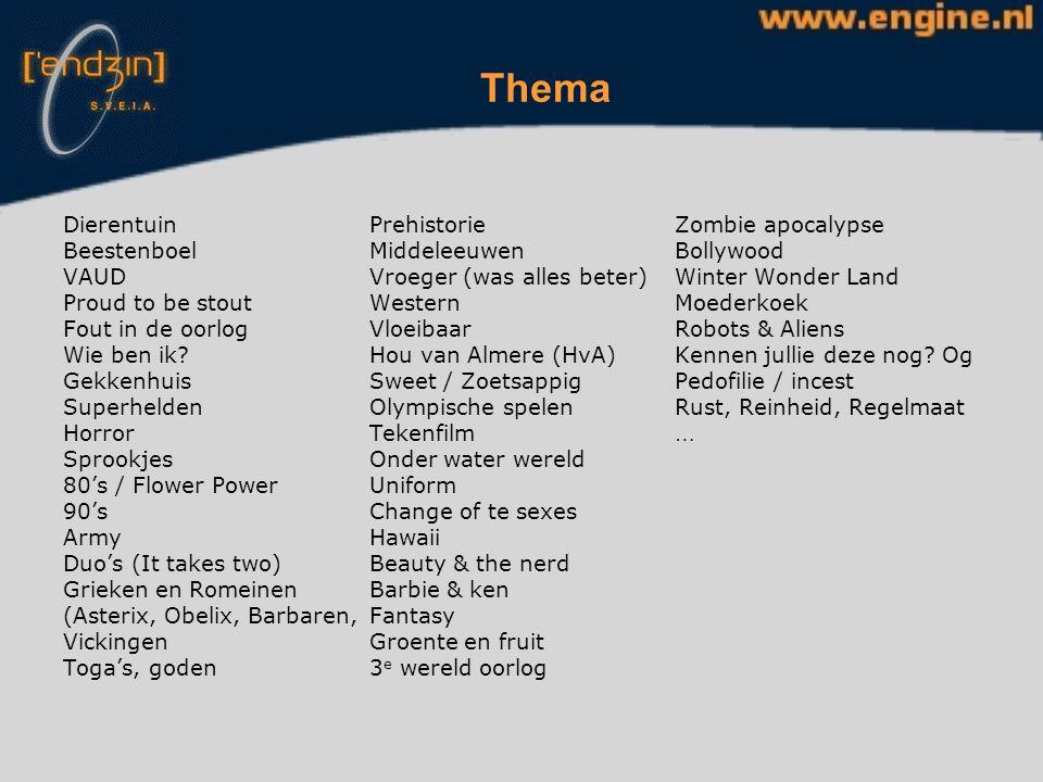 Commissies - Activiteiten 1 hoofd, 6 commissieleden Alle activiteiten van de week plannen, voorbereiden en regelen Draaiboek AC PaMa-bundel Romana