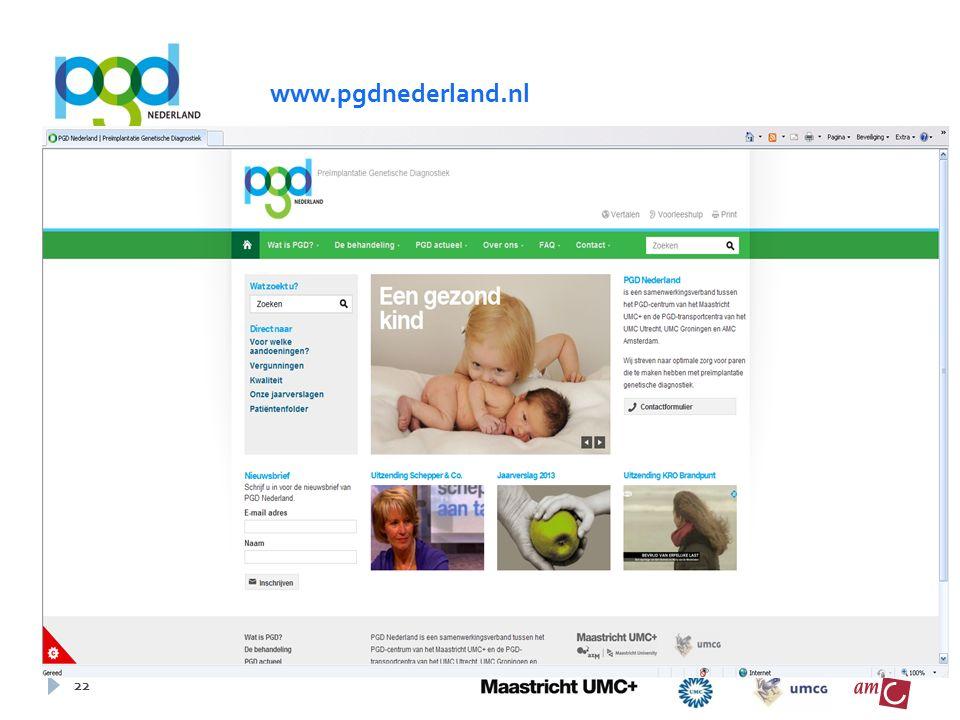 22 www.pgdnederland.nl
