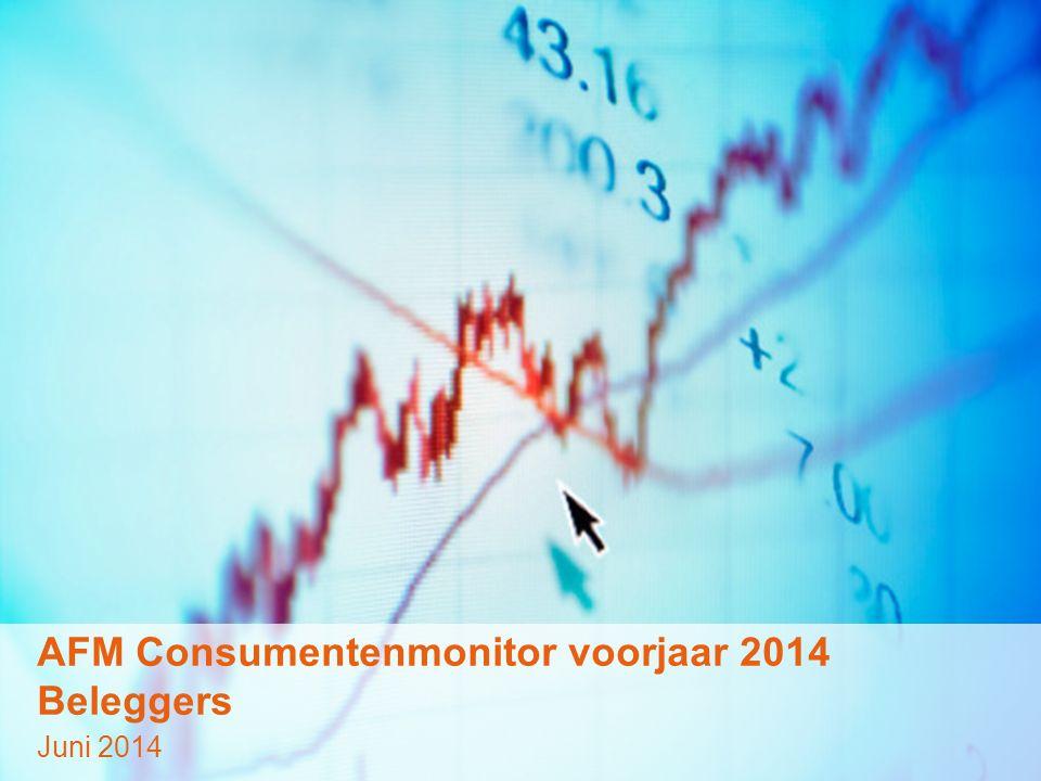 © GfK 2014 | AFM Consumentenmonitor | Juni 20141 AFM Consumentenmonitor voorjaar 2014 Beleggers Juni 2014