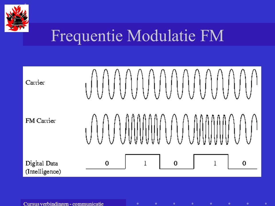 Cursus verbindingen - communicatie Frequentie Modulatie FM