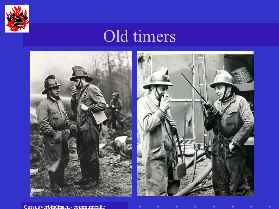 Cursus verbindingen - communicatie Old timers