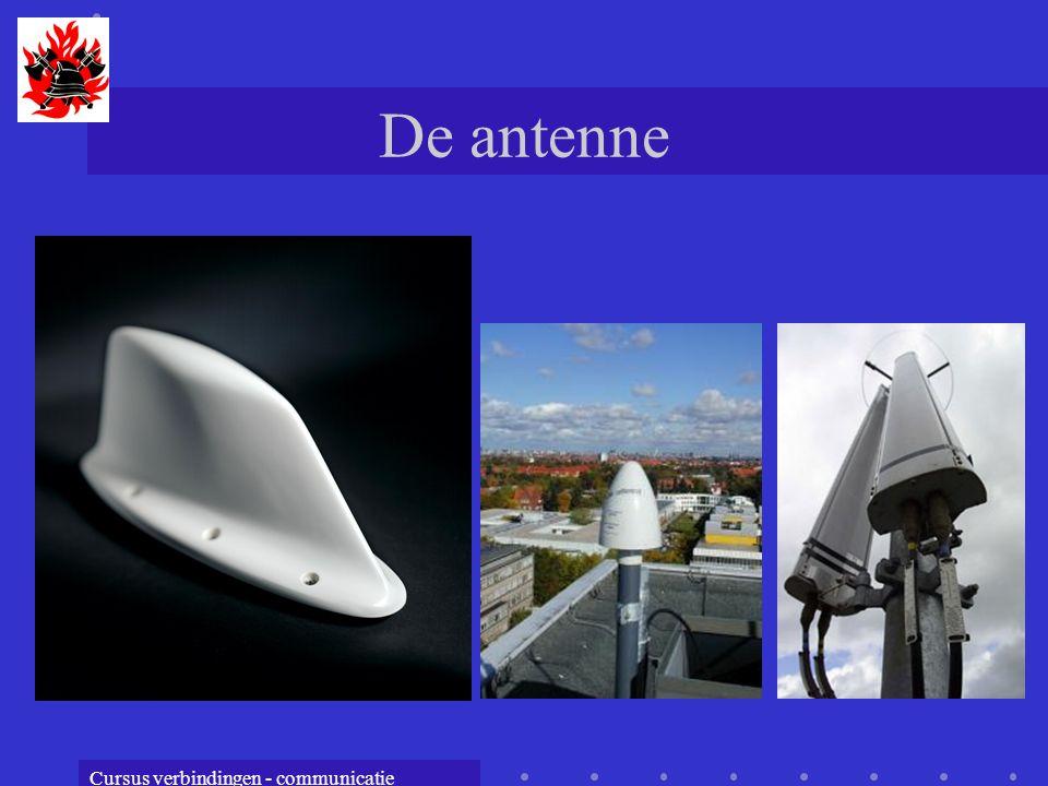 Cursus verbindingen - communicatie De antenne