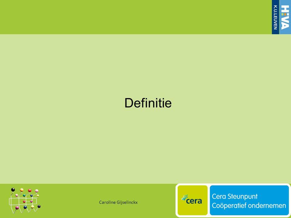 Definitie Caroline Gijselinckx 10