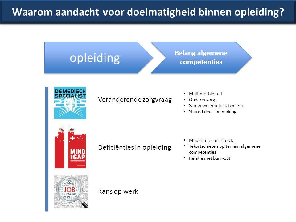 431-05-13 Algemene competenties binnen de opleidingen ………..