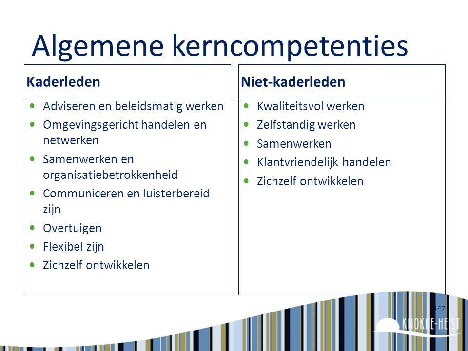 146 Persoonlijk actieplan : Stap 2 : competenties (HOE)