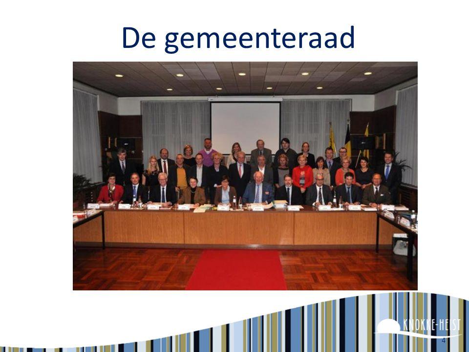 4 De gemeenteraad