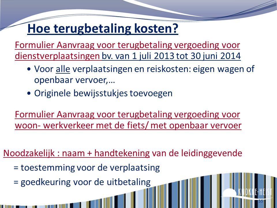 54 Keycard & Railpas Keycard = 10 rittenkaart – maximum tot Brugge 2 de klasse € 20, 1 ste klasse € 30 Railpass = 10 rittenkaart 2 de klasse € 76, 1 s