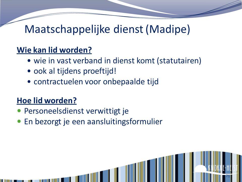 2 e pensioenpijler (contractuelen) Sinds 1 januari 2010 : 2 de pensioenpijler voor contractuelen = aanvullend pensioen (op wettelijk pensioen of 1 ste