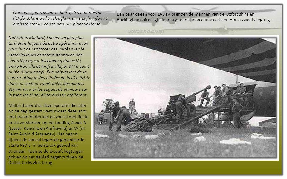 Dès la nuit du 5 au 6 juin, les premiers trains de planeurs se sont posés en Normandie, suivis par d'autres dans les jours suivants, non sans accident