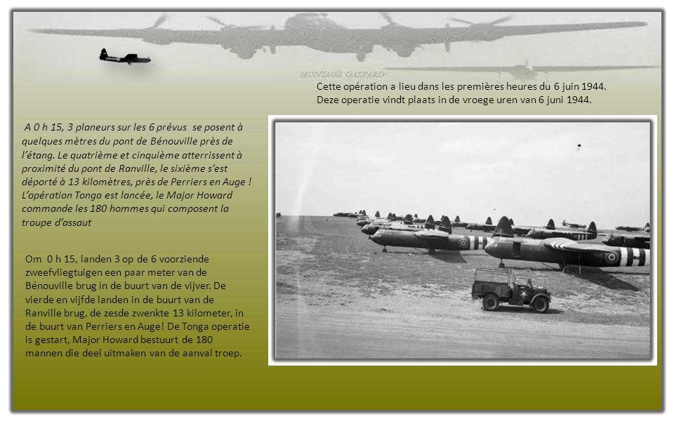 L' état-major avait prévu dès la veille du débarquement toute une série d' interventions aéroportées dans le but de détruire des sites ennemis, d' occ