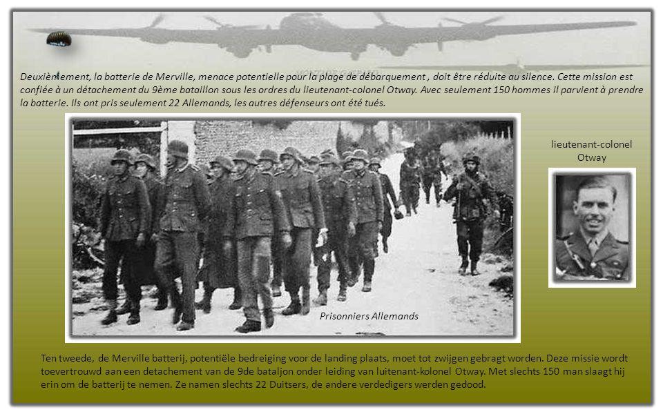 Les éclaireurs et la compagnie D du Major Howard doivent commencer à se déployer à compter de 00h20 le Jour J tandis que les autres éléments de la division sont attendus sur leur zone de largage et de poser à compter de 00h50.