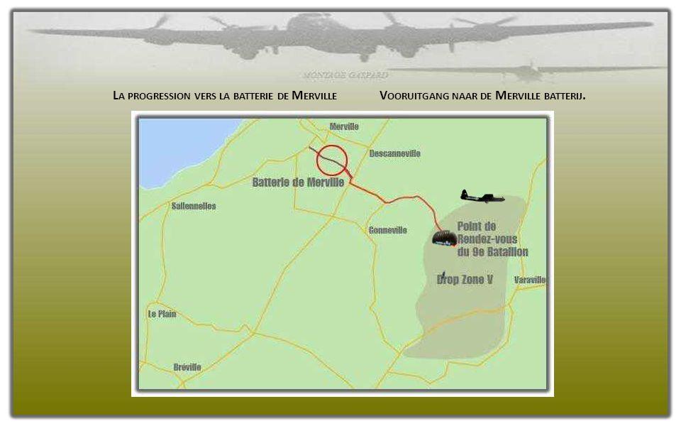 Un groupe d'éclaireurs aura la charge de tracer un chemin dans les champs de mines en le balisant à l'aide de rubans blancs pour que les paras suivant