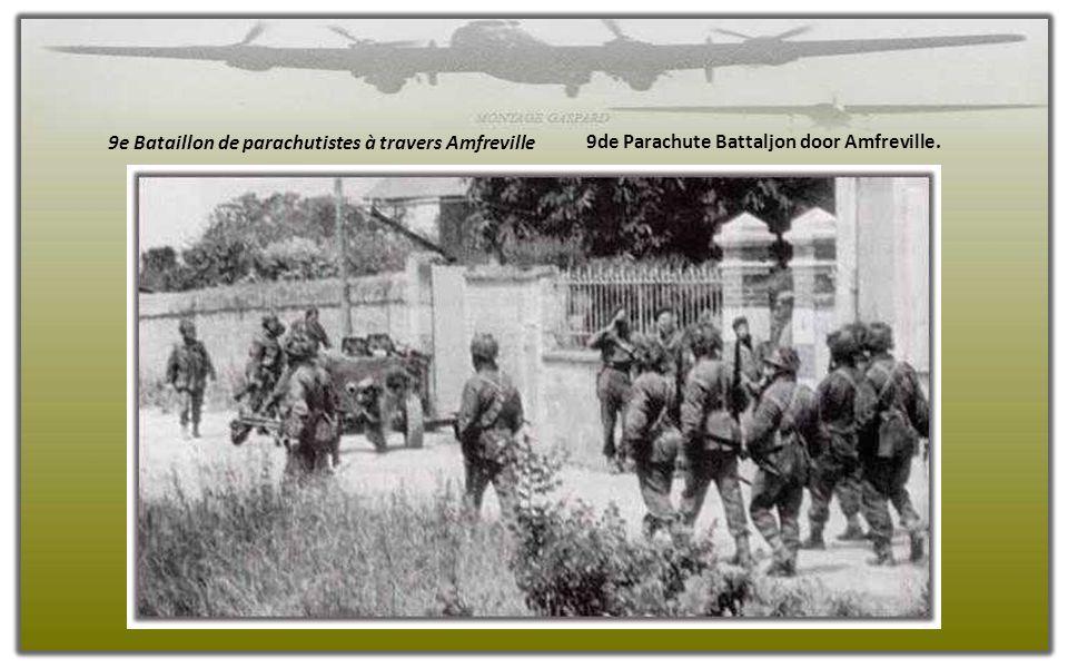 Parachutistes britanniques et les troupes commandos en Normandie, Juin 1944 Britse parachutisten en de commando troepen in Normandië in juni 1944.
