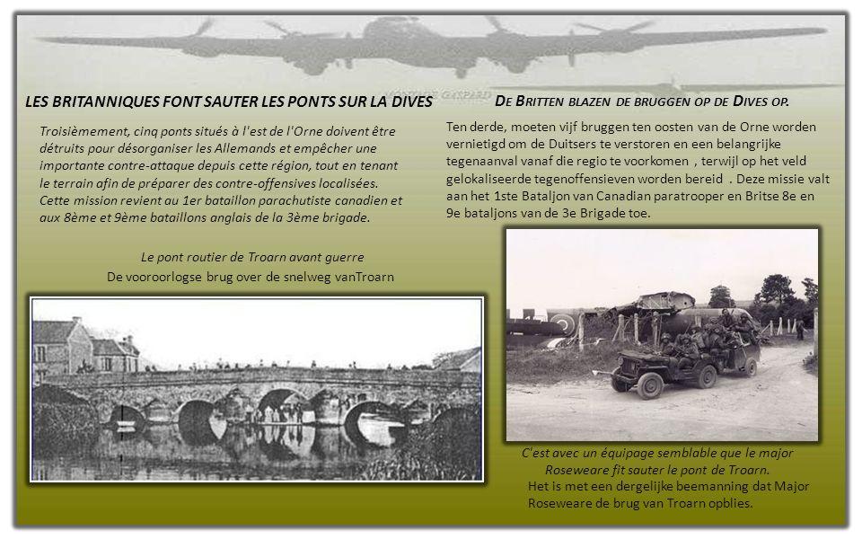 Pendant ce temps, le gros de la 6e Airborne a pris pied sur le sol normand peu avant 1 heure du matin, non sans quelques ratés.