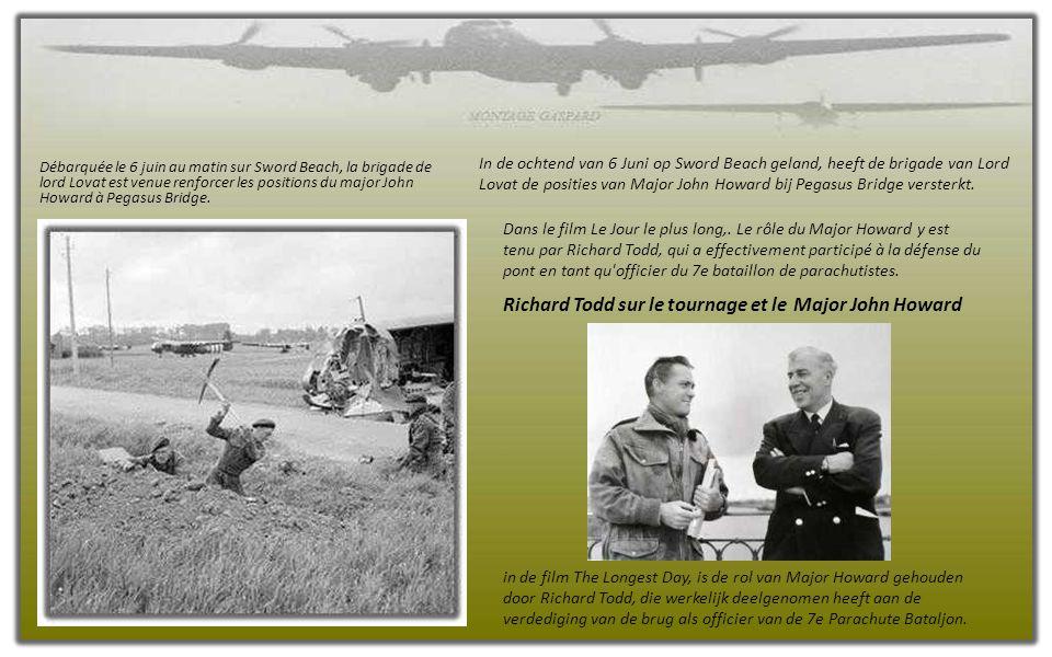 Dans la nuit du 4 au 5 juin 1944, 24 heures avant l'assaut général, neuf parachutistes sont largués à proximité des LZ