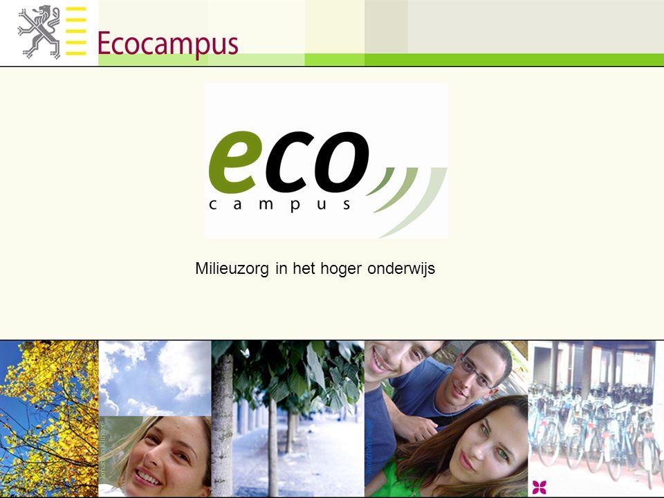 Jonathan Klinger Milieuzorg in het hoger onderwijs