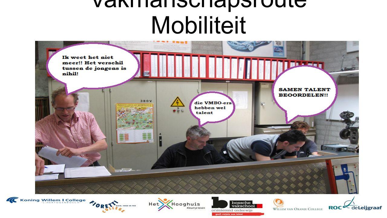 Vakmanschapsroute Mobiliteit