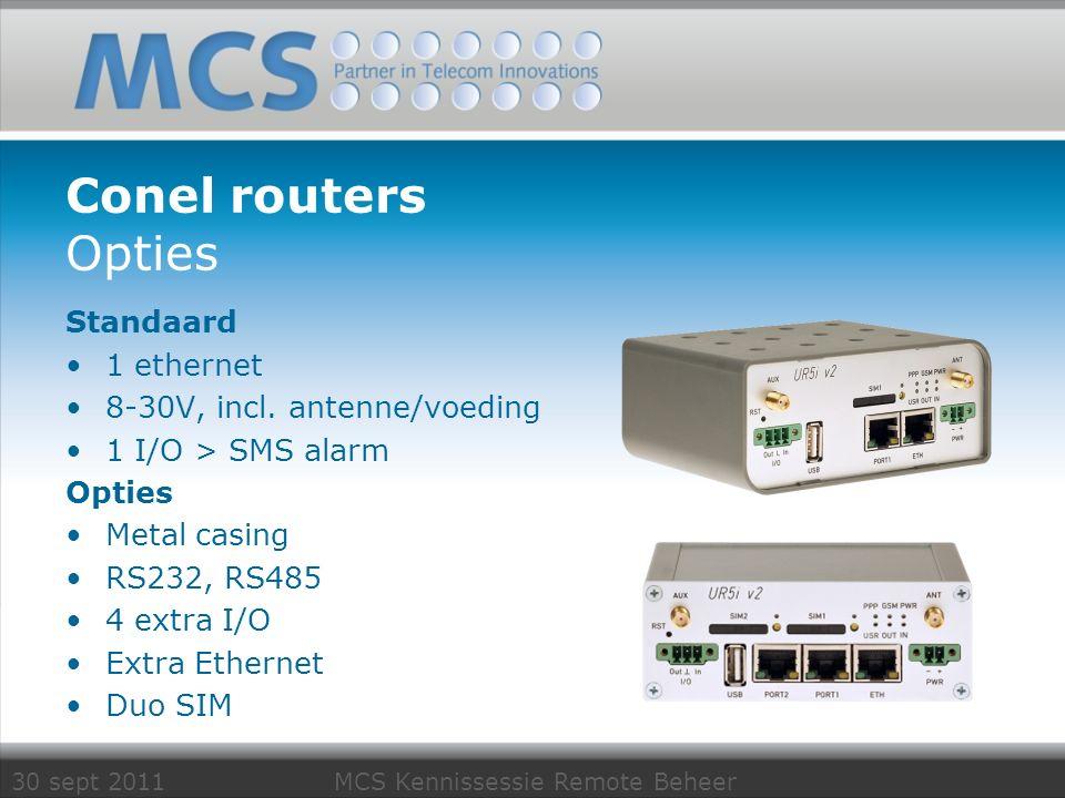 30 sept 2011 MCS Kennissessie Remote Beheer Type testing PLC's etc.