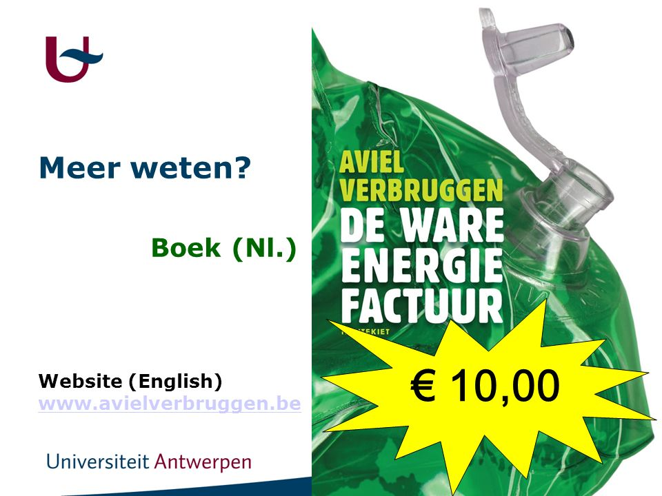 30 Meer weten Boek (Nl.) Website (English) www.avielverbruggen.be www.avielverbruggen.be € 10,00