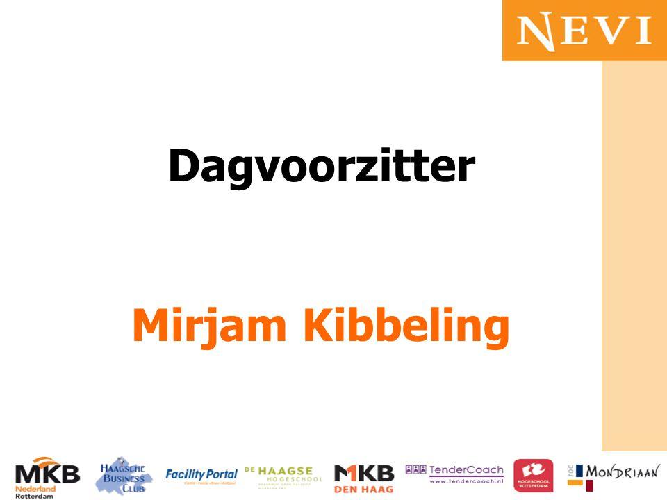Dagvoorzitter Mirjam Kibbeling