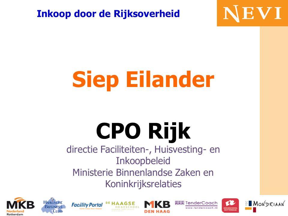 HET KENNISNETWERK VOOR INKOOP EN SUPPLY MANAGEMENT mr Bruno Tideman Voorzitter MKB Zuid Holland Werken aan vertrouwen