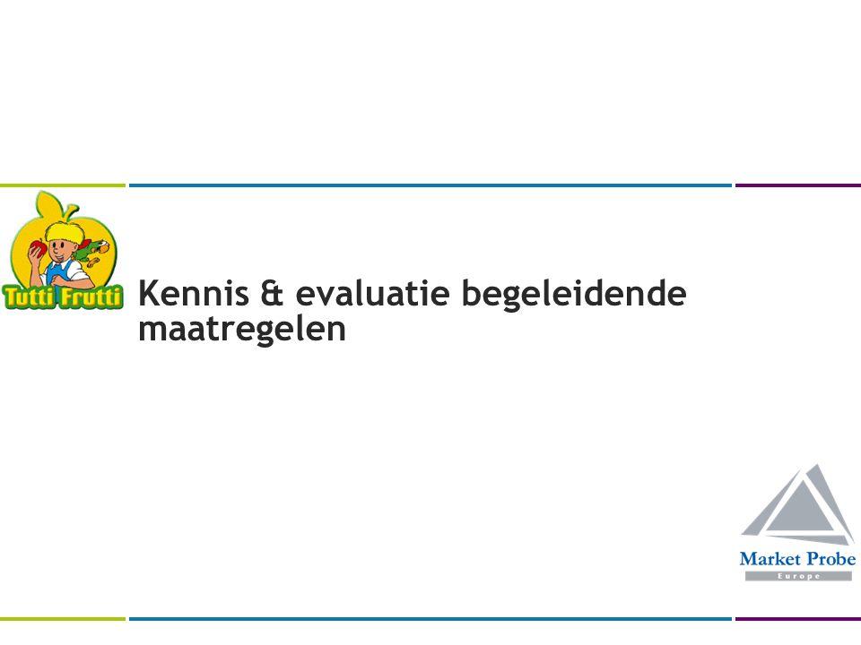 Kennis & evaluatie begeleidende maatregelen