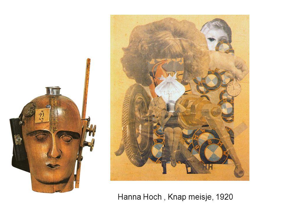 Hanna Hoch, Knap meisje, 1920