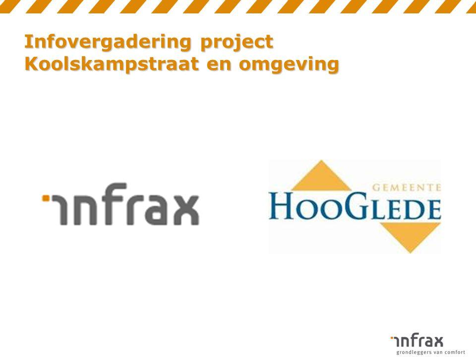 Infovergadering project Koolskampstraat en omgeving