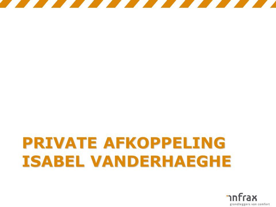 PRIVATE AFKOPPELING ISABEL VANDERHAEGHE
