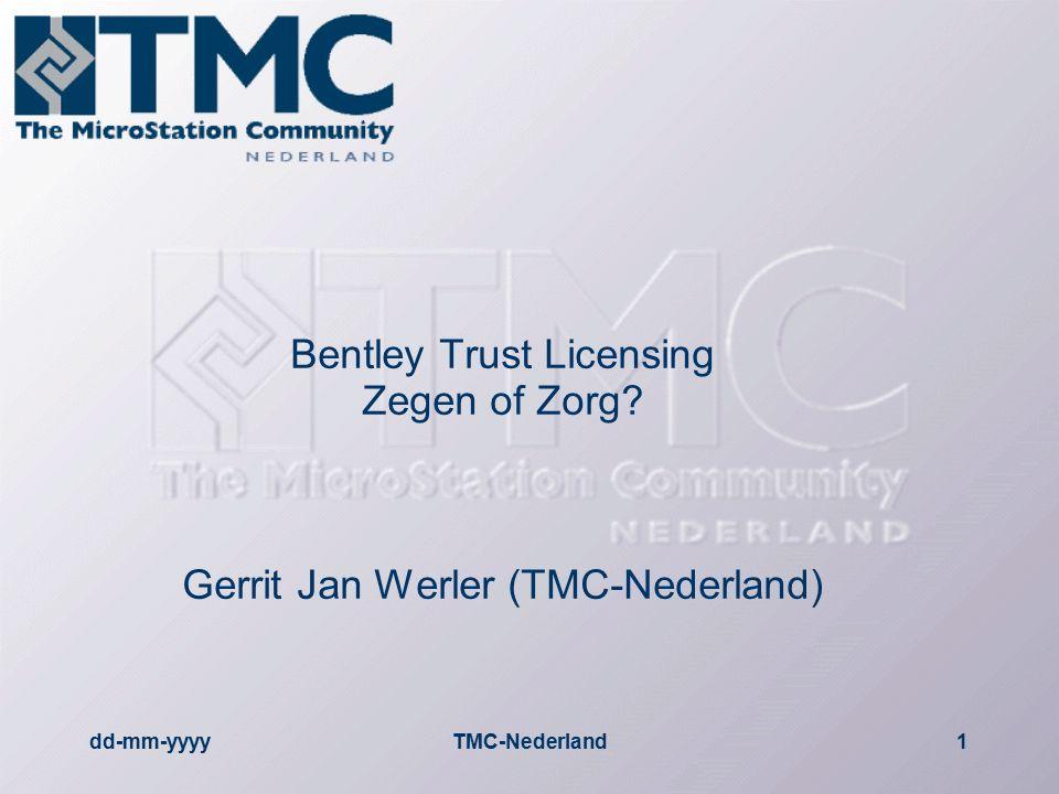 dd-mm-yyyyTMC-Nederland12 Meer info  Bentley  Eat you CAD (http://www.eatyourcad.com/article.php?incat_id=1517 )