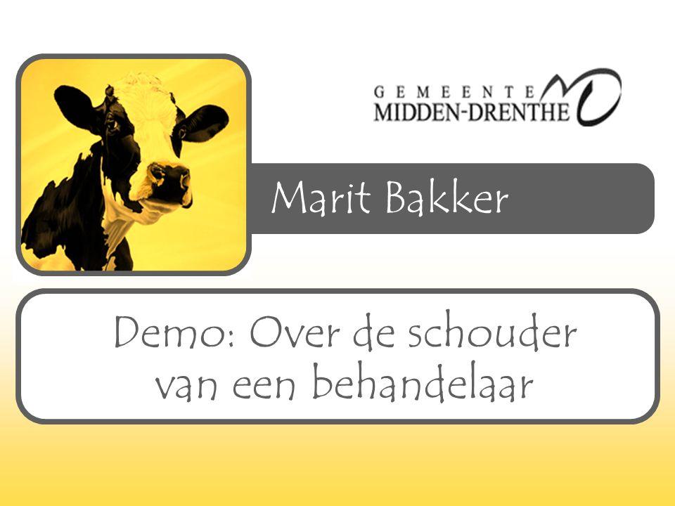 Marit Bakker Demo: Over de schouder van een behandelaar