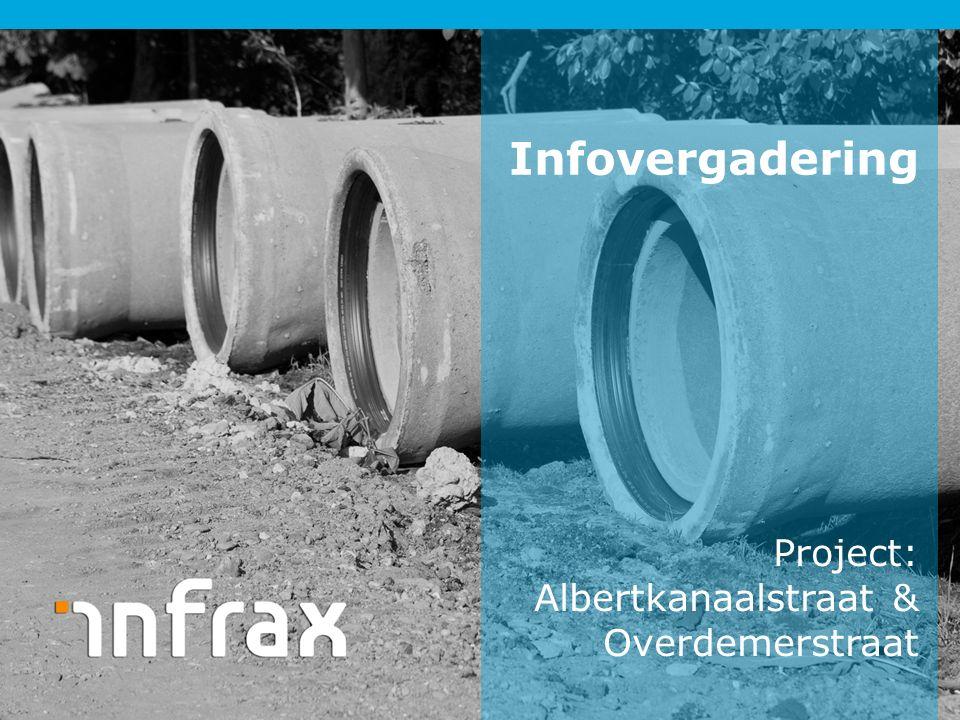 Project: Albertkanaalstraat & Overdemerstraat Infovergadering