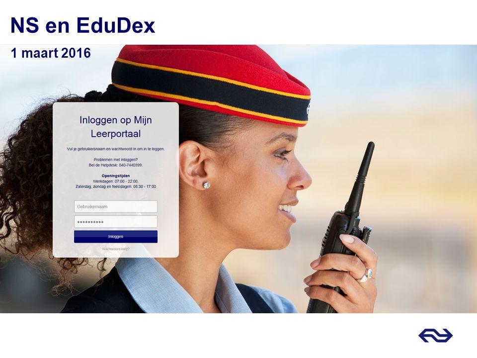 NS en EduDex 1 maart 2016